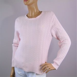 IZOD Cable Knit Cotton Sweater Women's